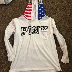 Super cute long sleeve shirt from PINK